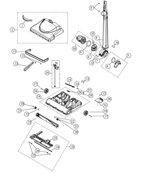 riccar vacuum parts diagram riccar supralite rsl5c parts