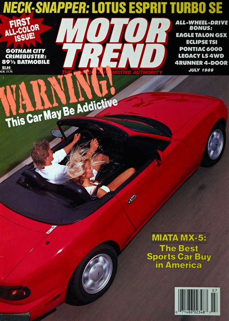 motor trend cover covered mazda mx 5 miata motor trend covers from 1989