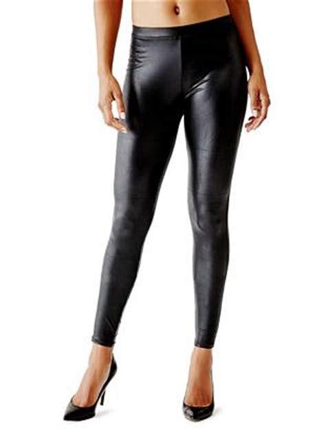 by guess womens gretchen leggings matte wet leggings guess ca