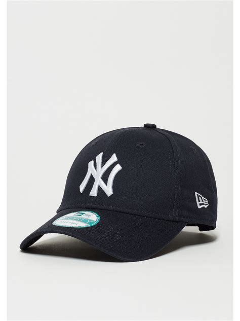 New York Basic new era 9forty league basic mlb new york yankees navy white snipes shop
