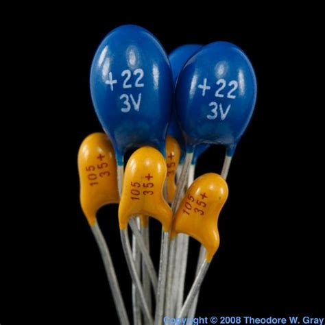 facts about capacitors facts pictures stories about the element tantalum in the periodic table