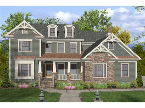 two story craftsman dawson pass craftsman home plan 013d 0158 house plans and more