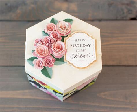 Cricut Home Decor Projects by Pretty Packages And 3d Floral Home Decor Cricut Image Sets