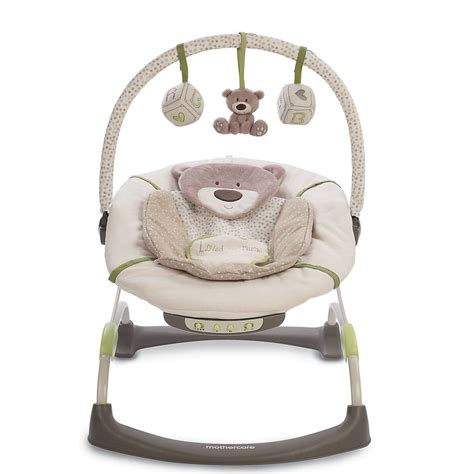 bear baby swing mothercare baby nursery loved so much bouncer chair padded