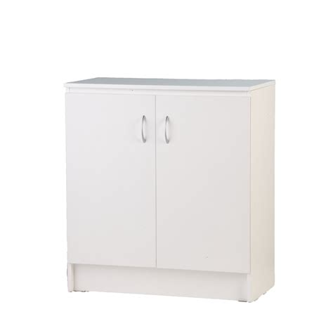 two door cabinet white bedford 900mm white 2 door base cabinet bunnings warehouse