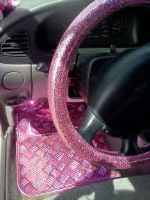 Wheels Truck Accessories Quot My Own Quot Glitter Pink Steering Wheel Cover From Korea