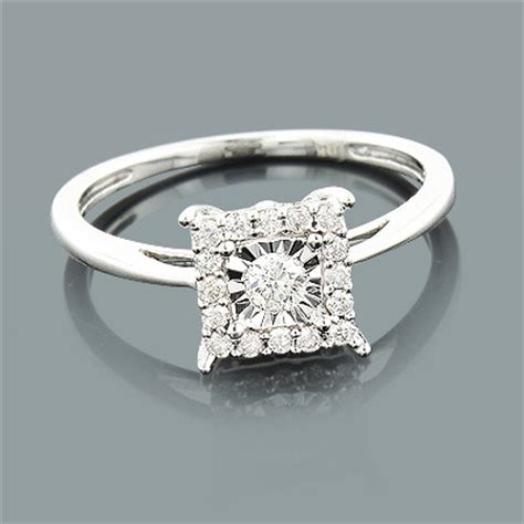affordable engagement ring 10k 1 carat look