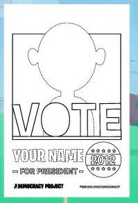 vote for me poster template pdf vote for posters