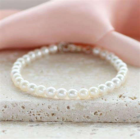 Classic Pearl Bracelet classic pearl bracelet by by corrine smith