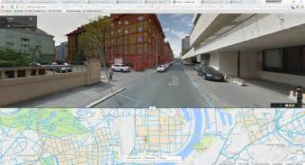 javascript panoramas  google maps  showing stack