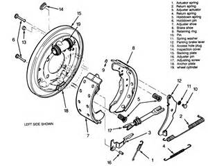 how to change rear drum brakes on chevy silverado 4x4 plus diagrams auto parts diagrams