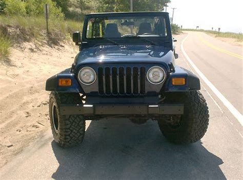 Used Jeeps For Sale In Michigan Sell Used 2006 Lifted Jeep Wrangler In Muskegon Michigan