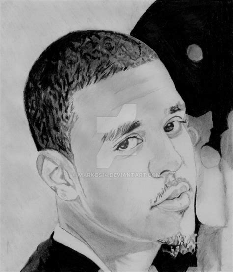 Drawing J Cole by J Cole By Markos14 On Deviantart