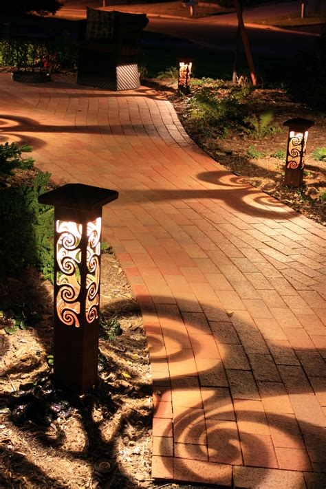 Landscape Pathway Lights Sculpture Lights Outdoor Lighting Perspectives