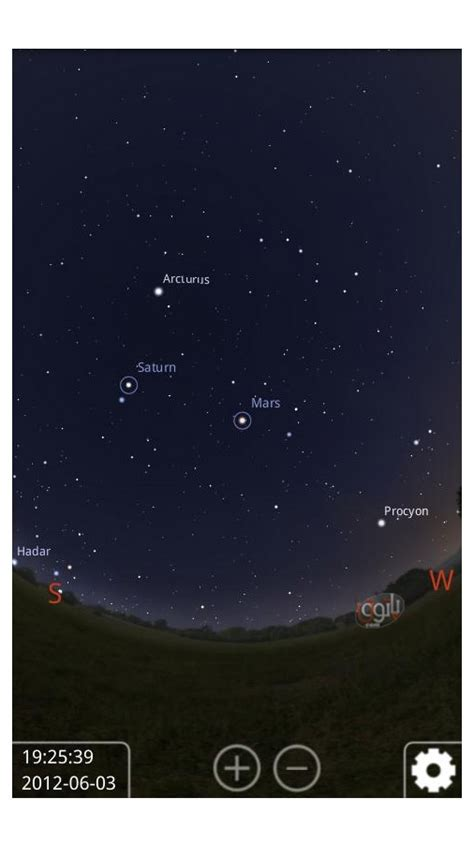 sky map apk stellarium mobile sky map apk 1 5 for android