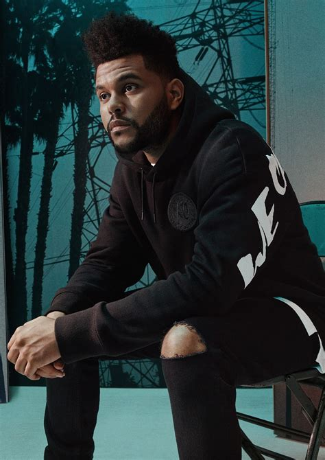 the weeknd s h m x the weeknd fall winter 2017 essentials collection