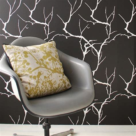 black and white bedroom wallpaper design ideas