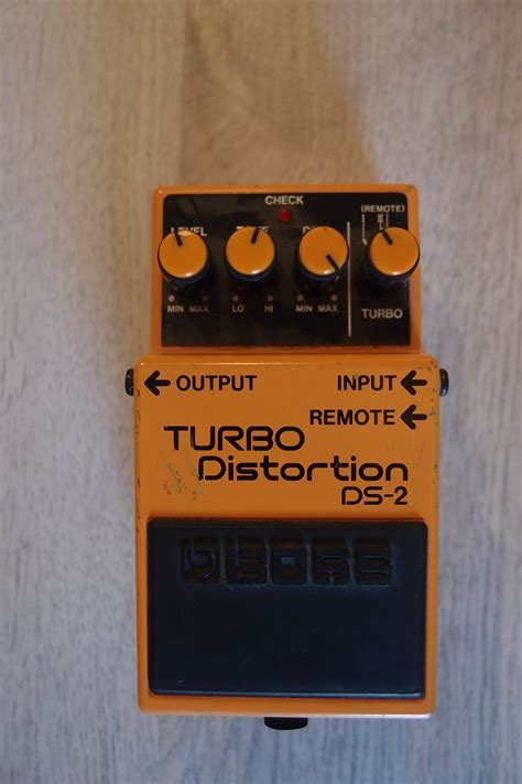 Ds 2 Turbo Distortion 2 Sound Klasik Efek Stompbox Gitar ds 2 turbo distortion ds 2 turbo distortion audiofanzine