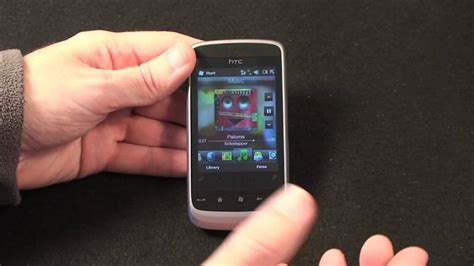 htc touch 2 themes htc touch 2 mobile phone review youtube