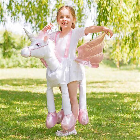 ride  unicorn light  sound costume
