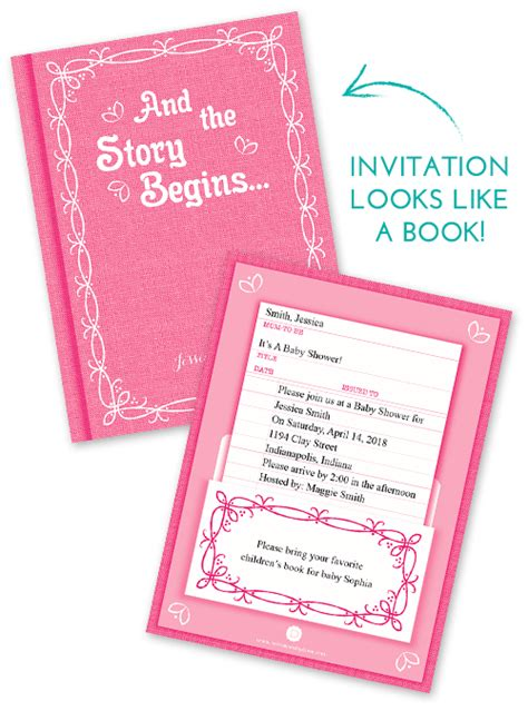 baby shower invitation wording book theme book theme baby shower invitations theruntime