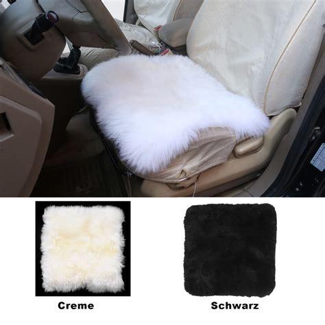 kissen matratze lammfellbezug sitzbezug auto echt lammfell vordersitzbezug