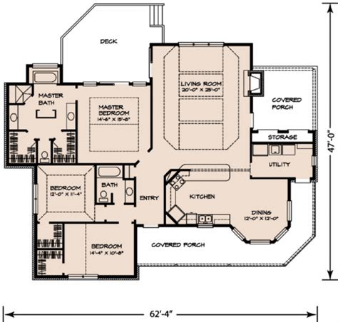 country style house floor plans country style house plan 3 beds 2 baths 1963 sq ft plan
