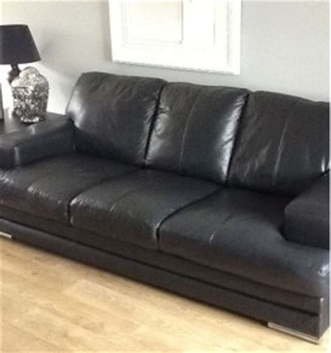 dfs leather sofas for sale dfs black leather 3 seater sofa for sale in dublin 8