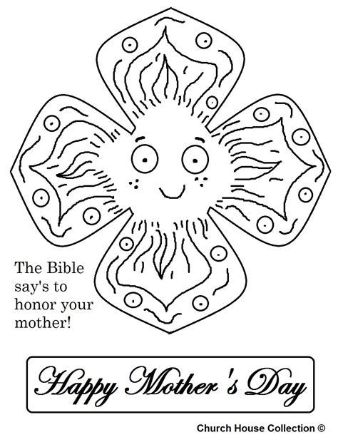 christian childrens coloring pages for mother s day mother s day coloring pages