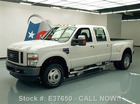 how to sell used cars 2008 ford f350 head up display sell used 2008 ford f350 fx4 crew 4x4 diesel dually leather 38k texas direct auto in stafford