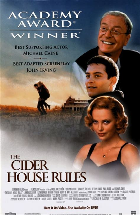 the cider house rules movie vintage movies theater and entertainment ads of the 1990s page 6