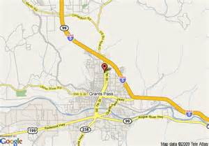 map of sunset inn grants pass