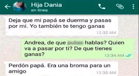 preguntas que le harías a tu crush whatsapp padre se entera que su hija har 225 travesuras