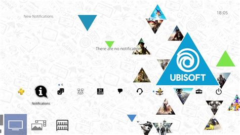 ps4 themes uk release ps4 ubisoft theme preview free on uk psn store youtube