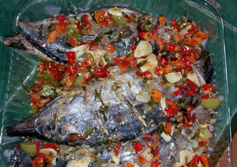 Tongkol Abu resep ikan cakalang dabu dabu manado oleh dian pustika