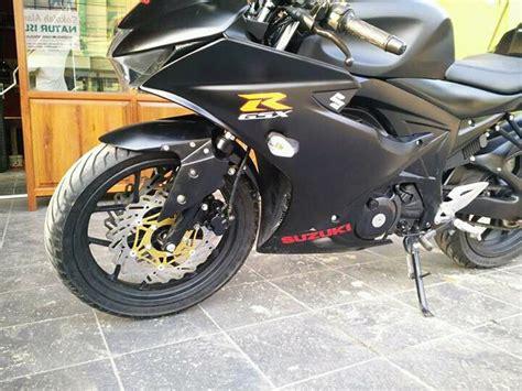 Cover Tangki Gsx R150 modifikasi suzuki gsx r150 discbrake cxrider