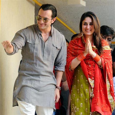 saif ali kareena kapoor saif kareena married wish them rediff com movies