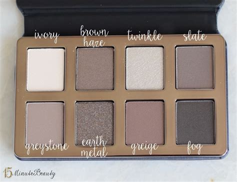 Harga Lt Pro Eyebrow brown s new greige eye shadow palette review and