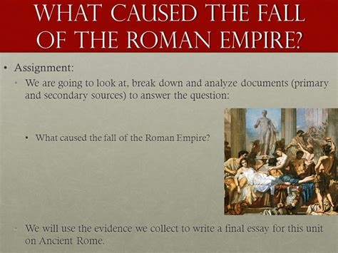 Essay On The Fall Of The Western Empire by Essay On The Fall Of The Empire Ancient Rome Quiz Fl I L O In T Web C Global Hi My Period
