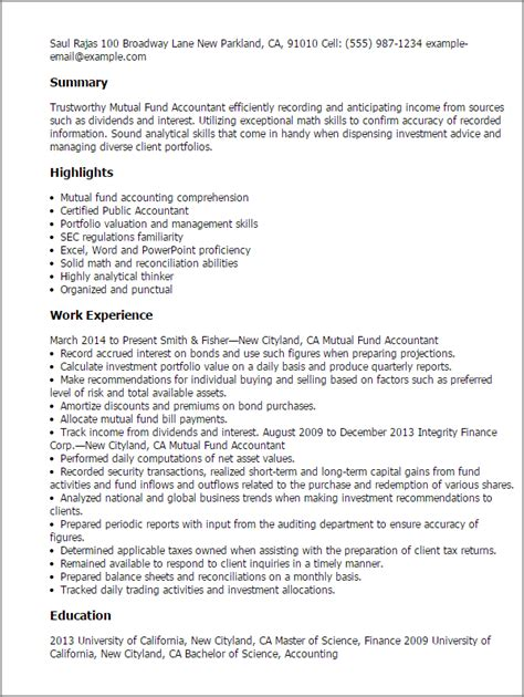 Fund Accountant Cover Letter by Fund Accountant Cover Letter Docoments Ojazlink