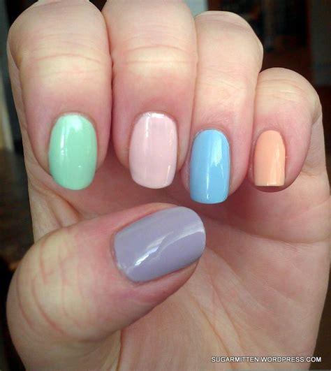 25 creative and inspiring pastel nail design colors