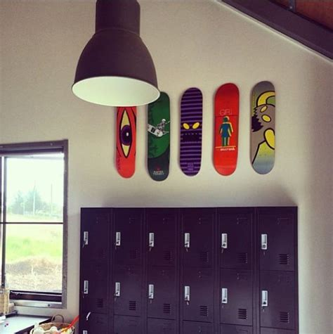 skateboard accessories for bedrooms kids zone skate decoration shapes decoraćao wall