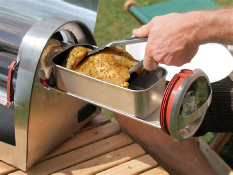kamado boat grill no fuel just sunshine the innovative gosun grill lets