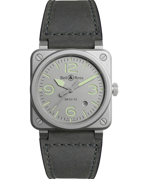 Bell Ross Br03 92 Limited Edition 30 Automobile Swiss Eta bauhaus travelers bell ross br 03 92 horograph and br