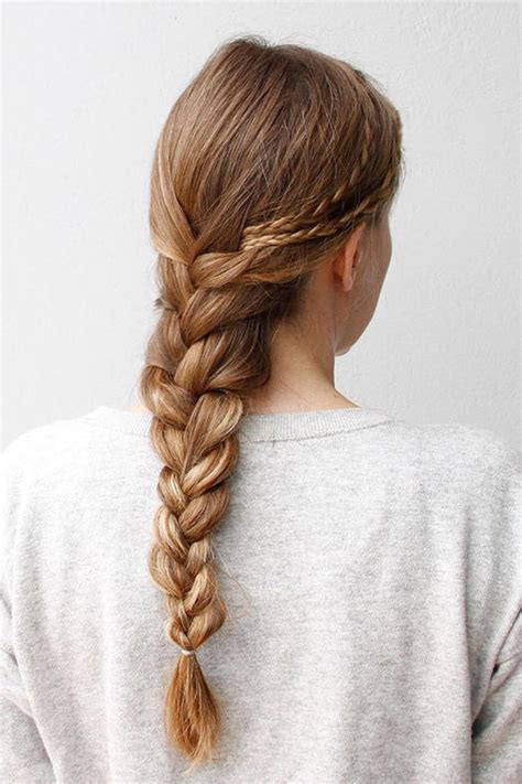 easy hairstyles with plaits 50 fabulous french braid hairstyles to diy more com