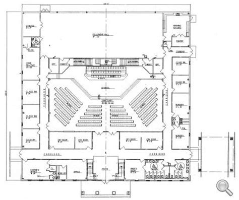 Church Floor Plans And Designs | church plan 152 lth steel structures