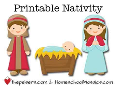 printable nativity scene characters free hands on printable nativity nativity celebrating