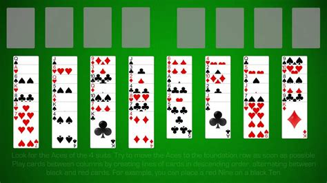 how to play solitaire learn how to play free cell solitaire