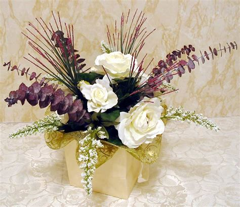 flowers centerpieces make a silk flower centerpiece in five easy steps