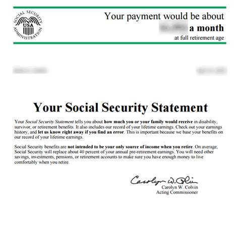 Award Letter Benefits luxury social security award letter how to format a